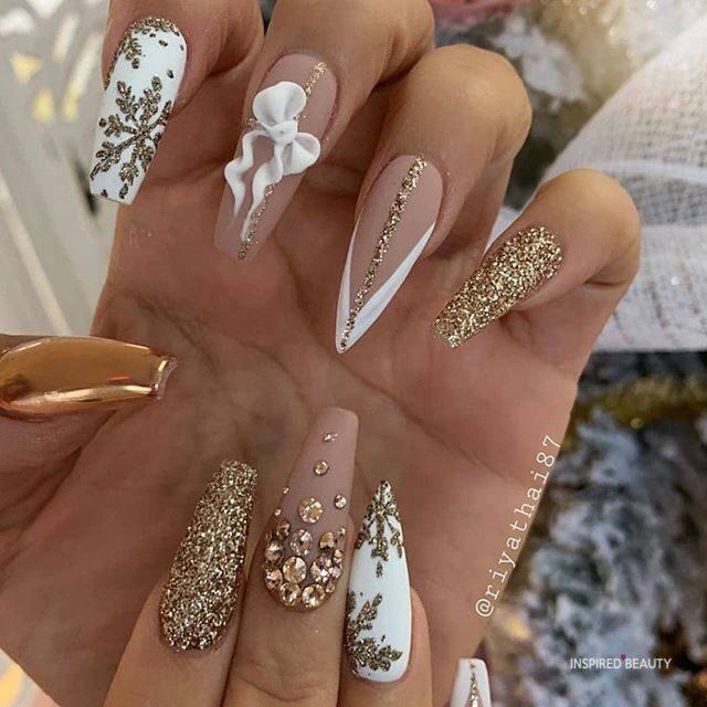 Winter Nails color