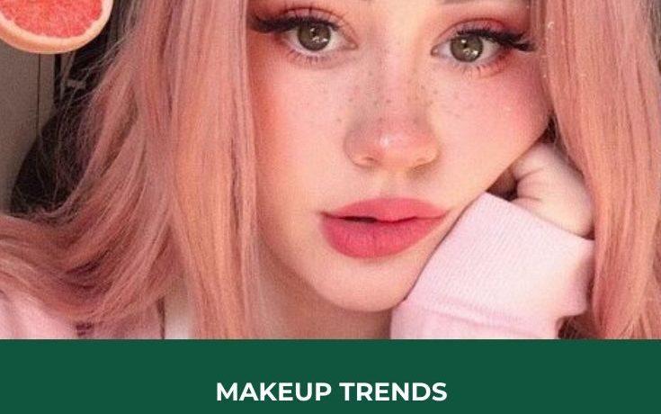 makeup trends, makeup looks