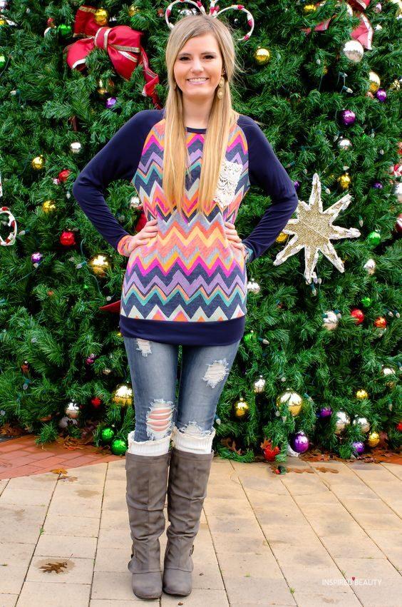 beautiful multi color christmas sweaters