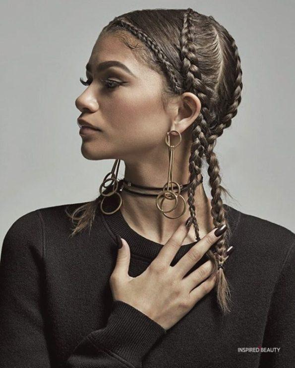 Zendaya hairstyle