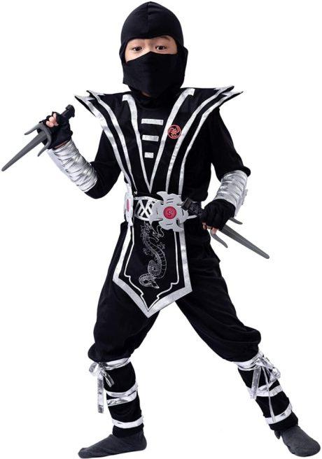 Silver Ninja Deluxe Costume