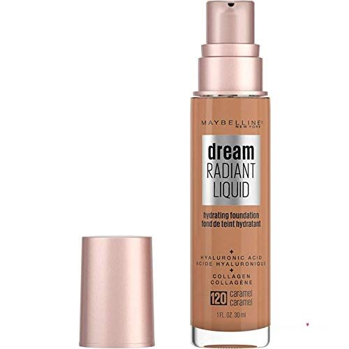Maybelline Dream Radiant Liquid best drugstore foundations for dry skin