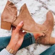 Ruffled Ankle