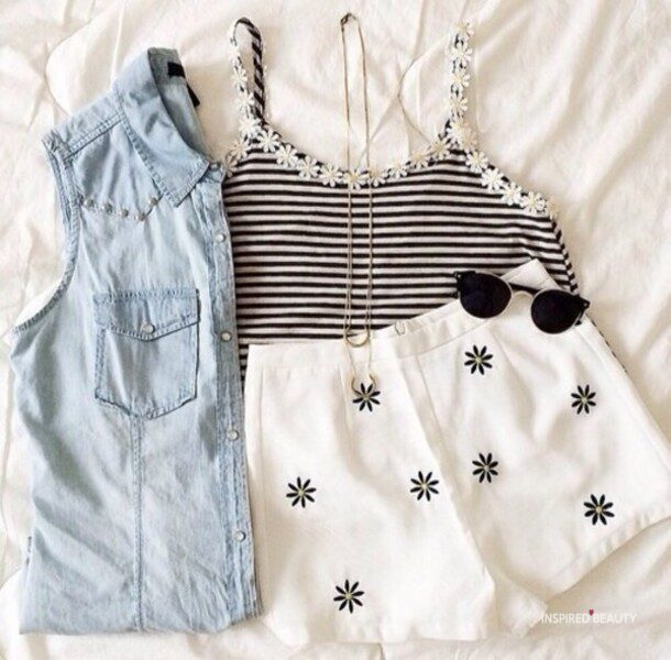 Floral Daisy Outfit