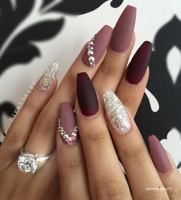30+ Coffin Nails To Die For - Inspired Beauty