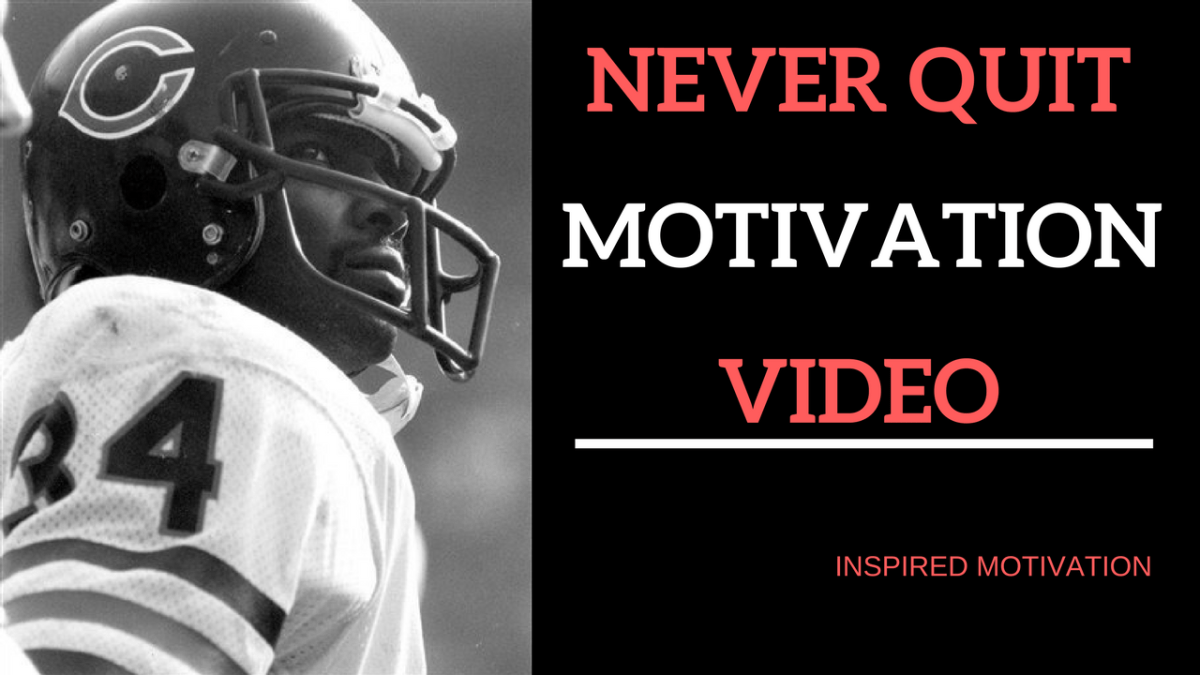 NEVER QUIT Barry Sanders - Walter Payton MOTIVATION VIDEO