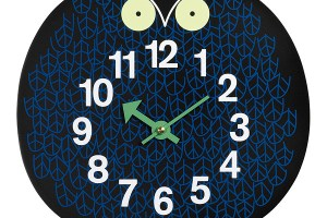 George Nelson Omar the Owl Clock, 1965