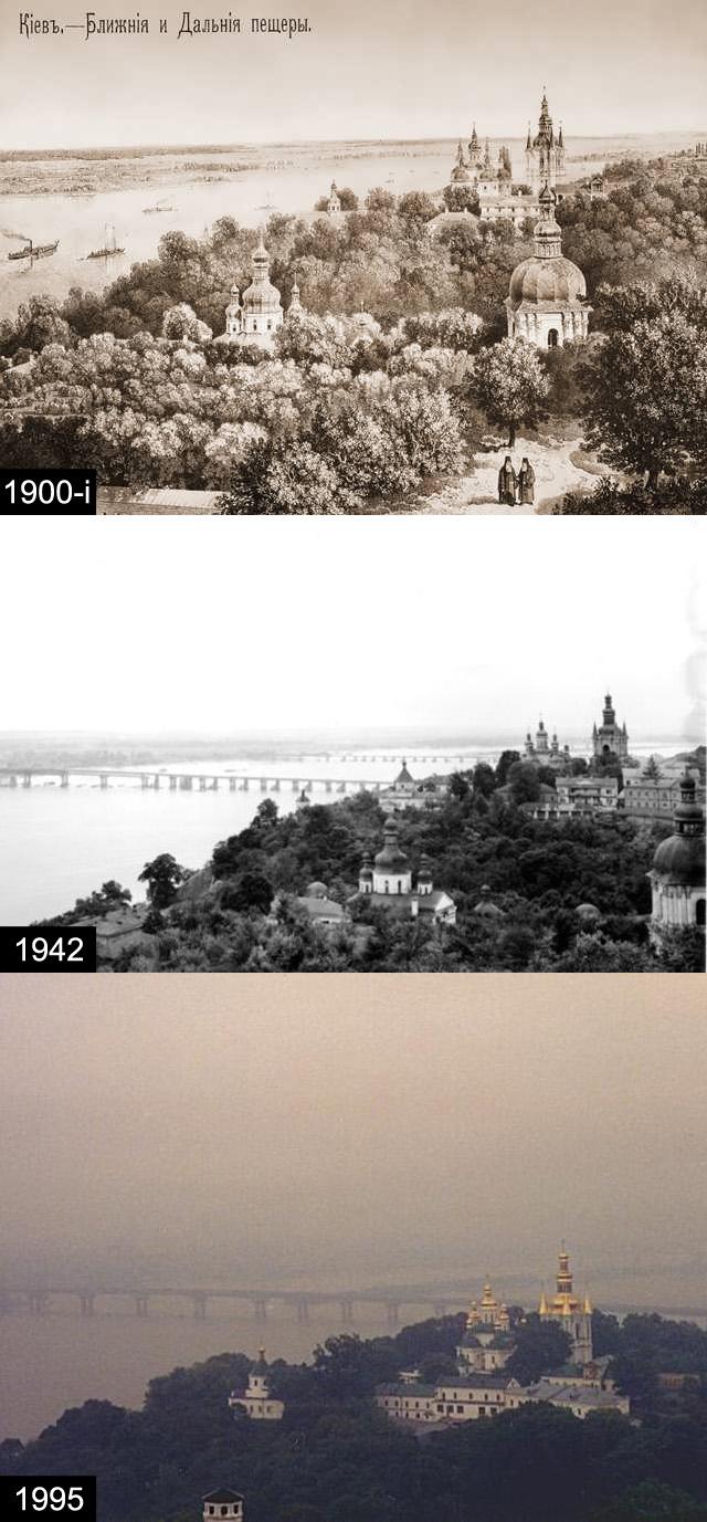 Лавра та Дніпро