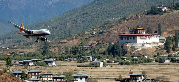 Аеропорт Паро, Бутан
