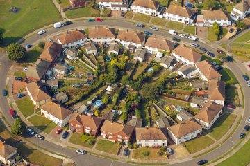 Фотографії міст з висоти