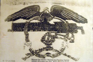 Machine Gun Insignia – Machine Gun Training Center, 1918