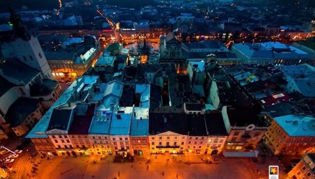 Вечірній Львів фото