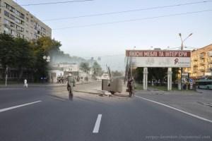 1941/2012 Німецький регулювальник на Брест-Литовському шосе (проспекті Перемоги)