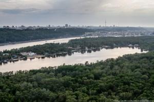 Київ з повітряної кулі