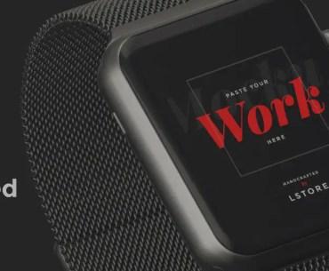 Mockup Animado Gratis de Apple Watch