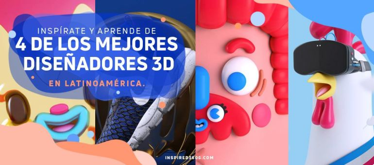 Diseñadores 3D en Latinoamérica
