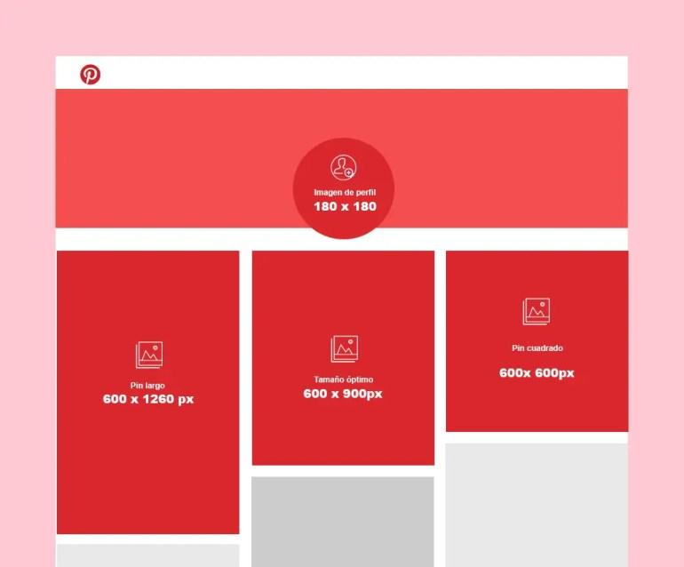 Pinterest Medidas 2020