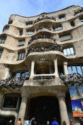 The outside of La Pedrera