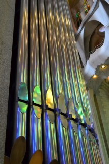 The large pipe organ
