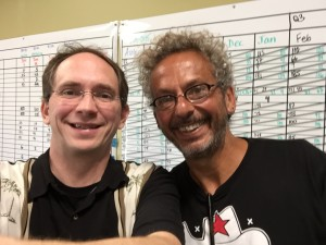 Todd Reed and Ari Weinzweig, Cofounder and partner of Zingerman's