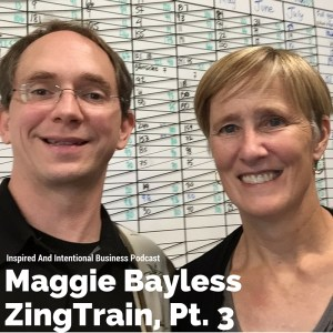 Maggie Bayless, Managing Parnter ZingTrain, and Todd Reed