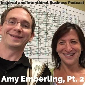 Amy Emberling at ZingTrain talking organizational change