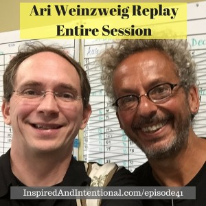 Ari Weinzweig Replay Entire Session