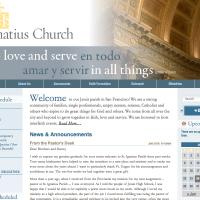 Site Inspiration - St. Ignatius in San Francisco, CA