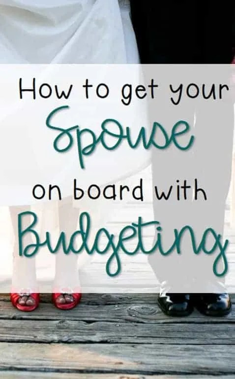 spouse marriage budget by inspiredbudget.com