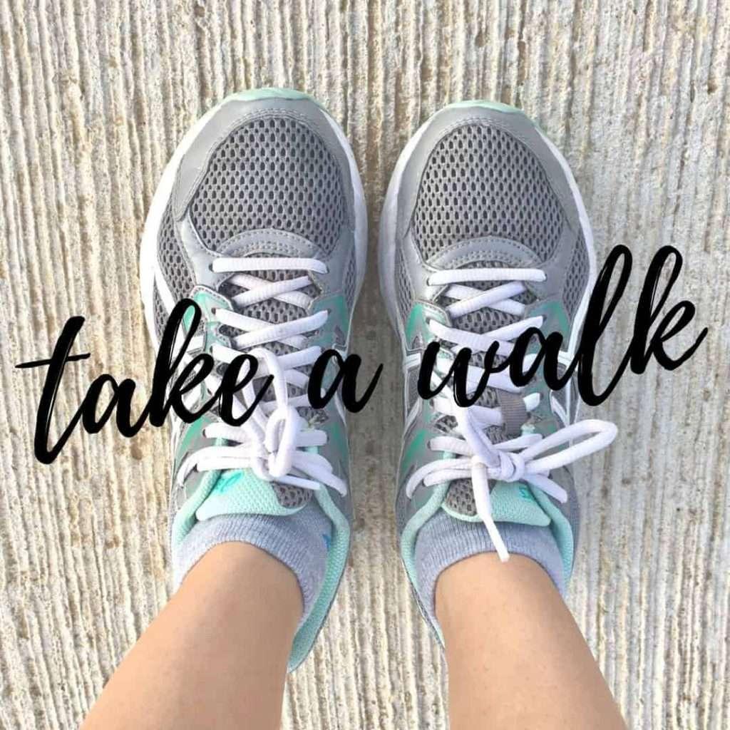 take a walk go walking by inspiredbudget.com