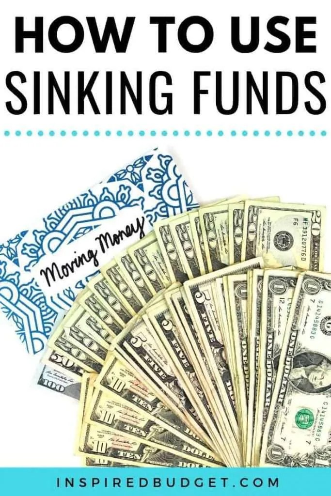 Sinking Funds by Inspired Budget