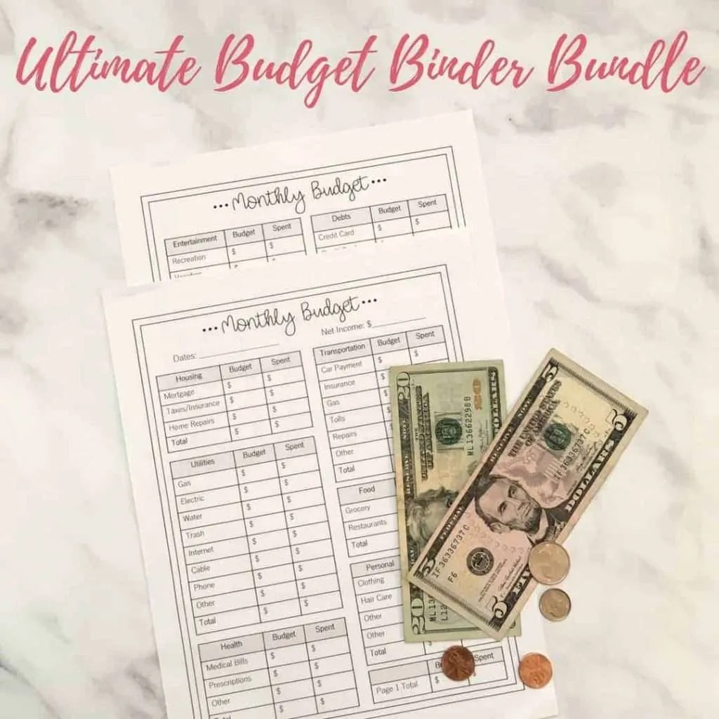 budget binder by www.inspiredbudget.com