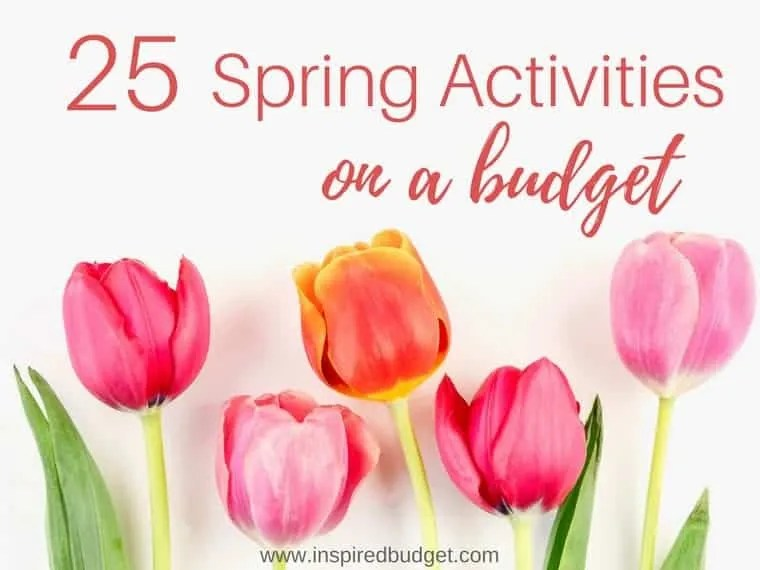 spring on a budget by www.inspiredbudget.com
