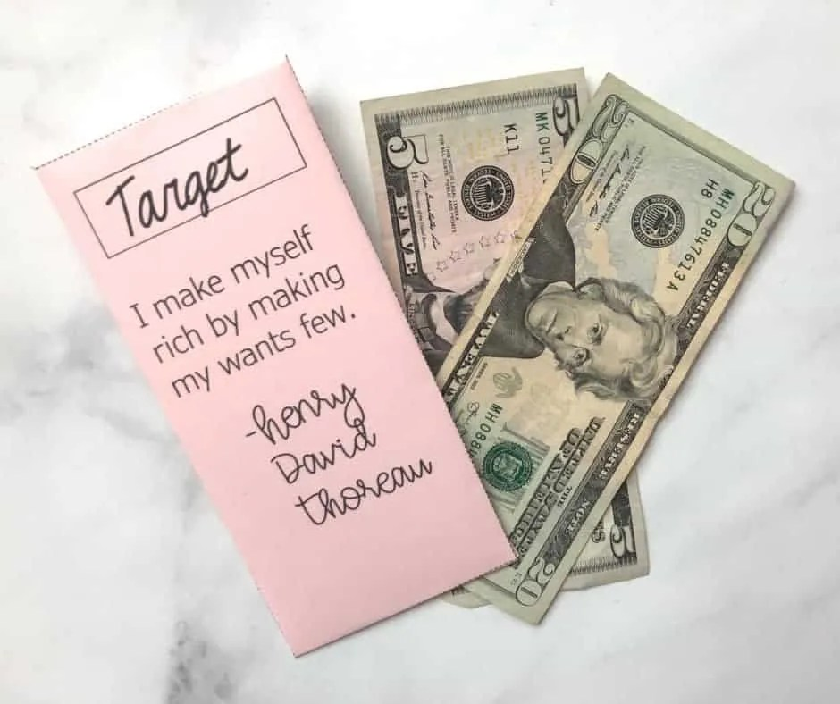 How I Stopped Letting Target Take All my Money by inspiredbudget.com