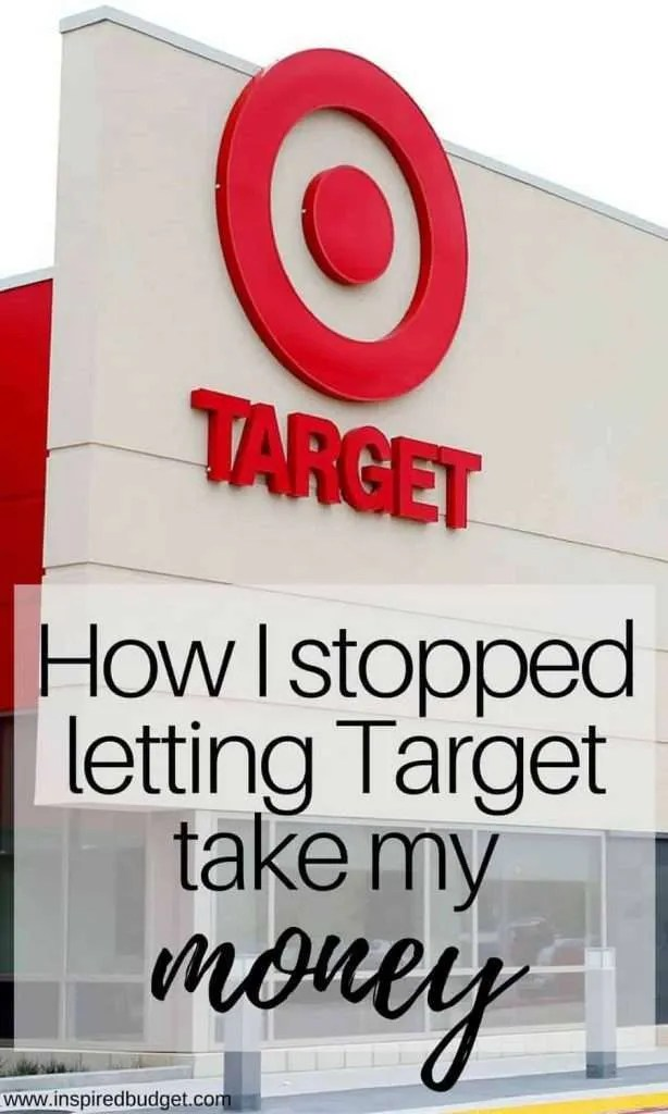 How I stopped letting Target win and take all my money by inspiredbudget.com