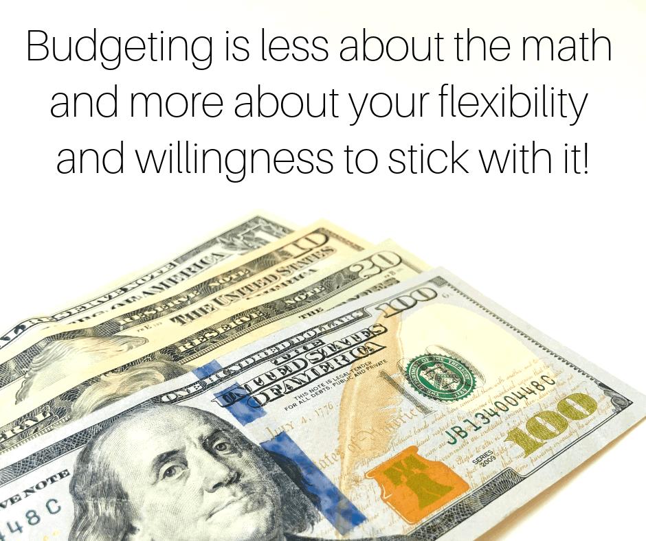How To Write A Mini-Budget by InspiredBudge.com