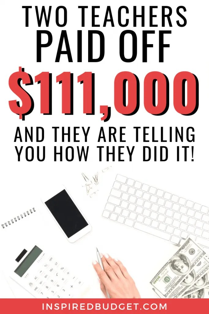 How To Teachers Paid Off Over $111,000
