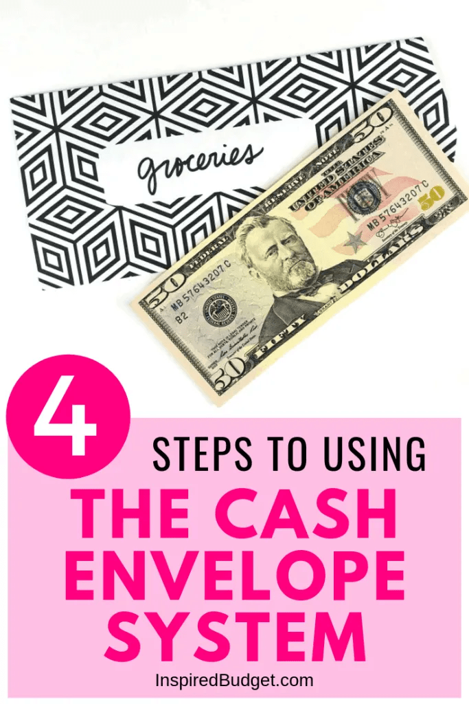 4 Step To Using The Cash Envelope Method