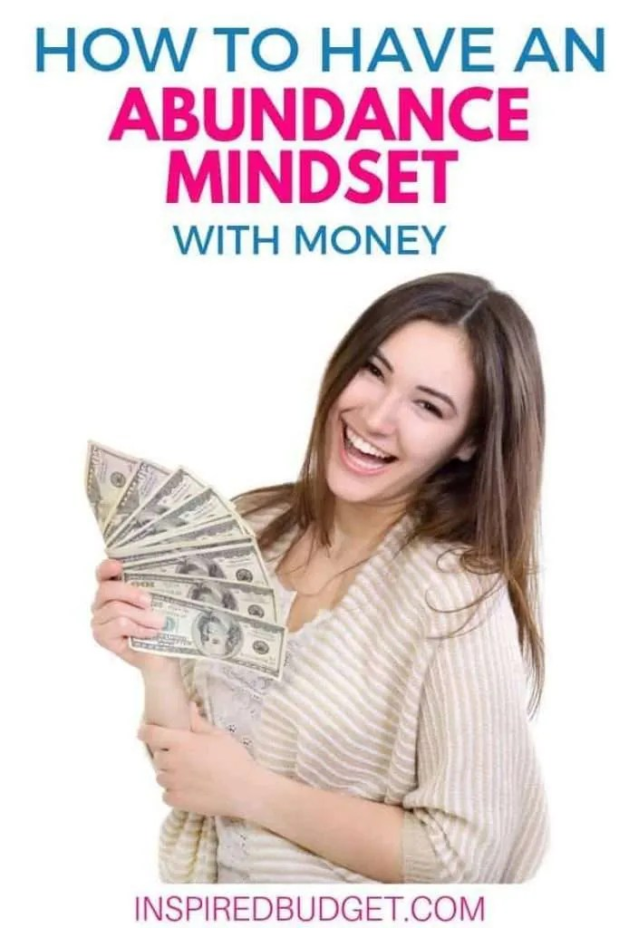 Abundance Mindset With Money by InspiredBudget.com