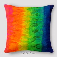 After the Rain Rainbow Pillow by Suzanne O'Brien ...