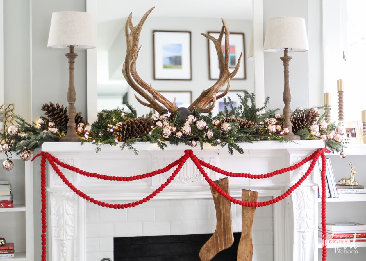 Christmas Mantel Ideas Of Decorating