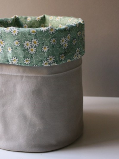 DIY Fabric Bucket