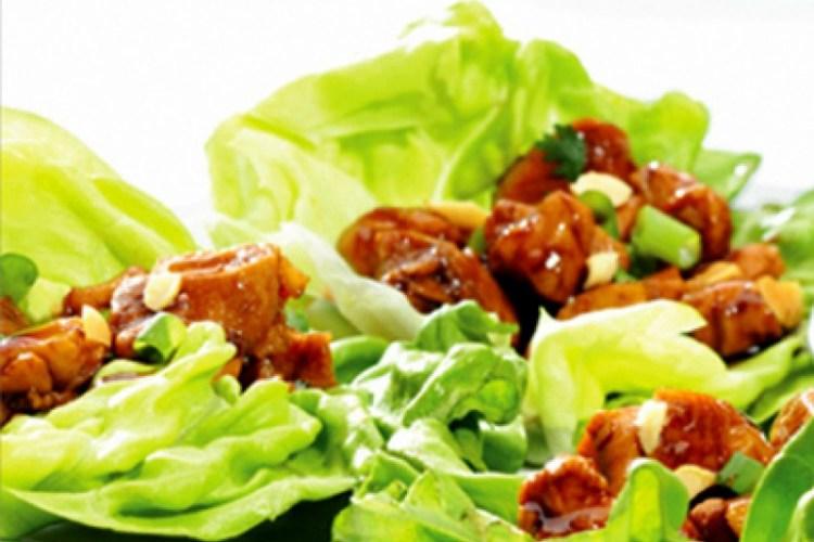 Kid Friendly Around the World Recipes: Thai Lettuce Wraps with Peanut Sauce