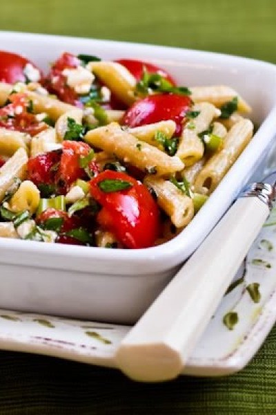 Sweet Bacon Penne Pasta Salad