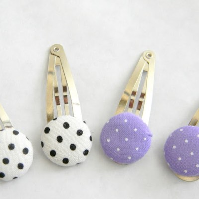 From Bows to Button Hair Clips