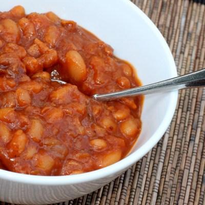 Amazing Maple Baked Beans