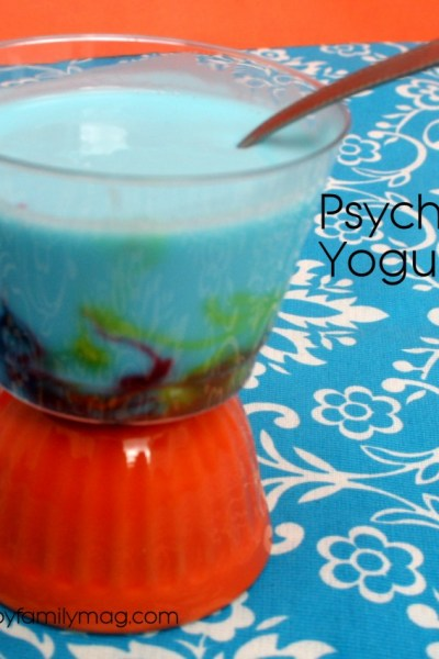 Edible Science Fun: Psychedelic Yogurt