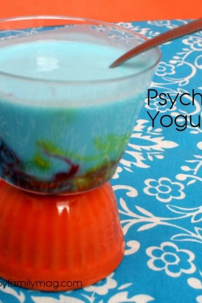 Edible Science Fun: Psychedelic Yogurt