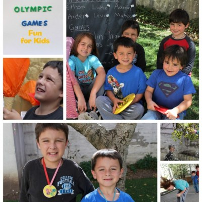 The Summer Games for Kids: Games, Crafts and Treats
