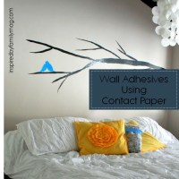 Wall Decals Using Contact Paper - Inspired by Family